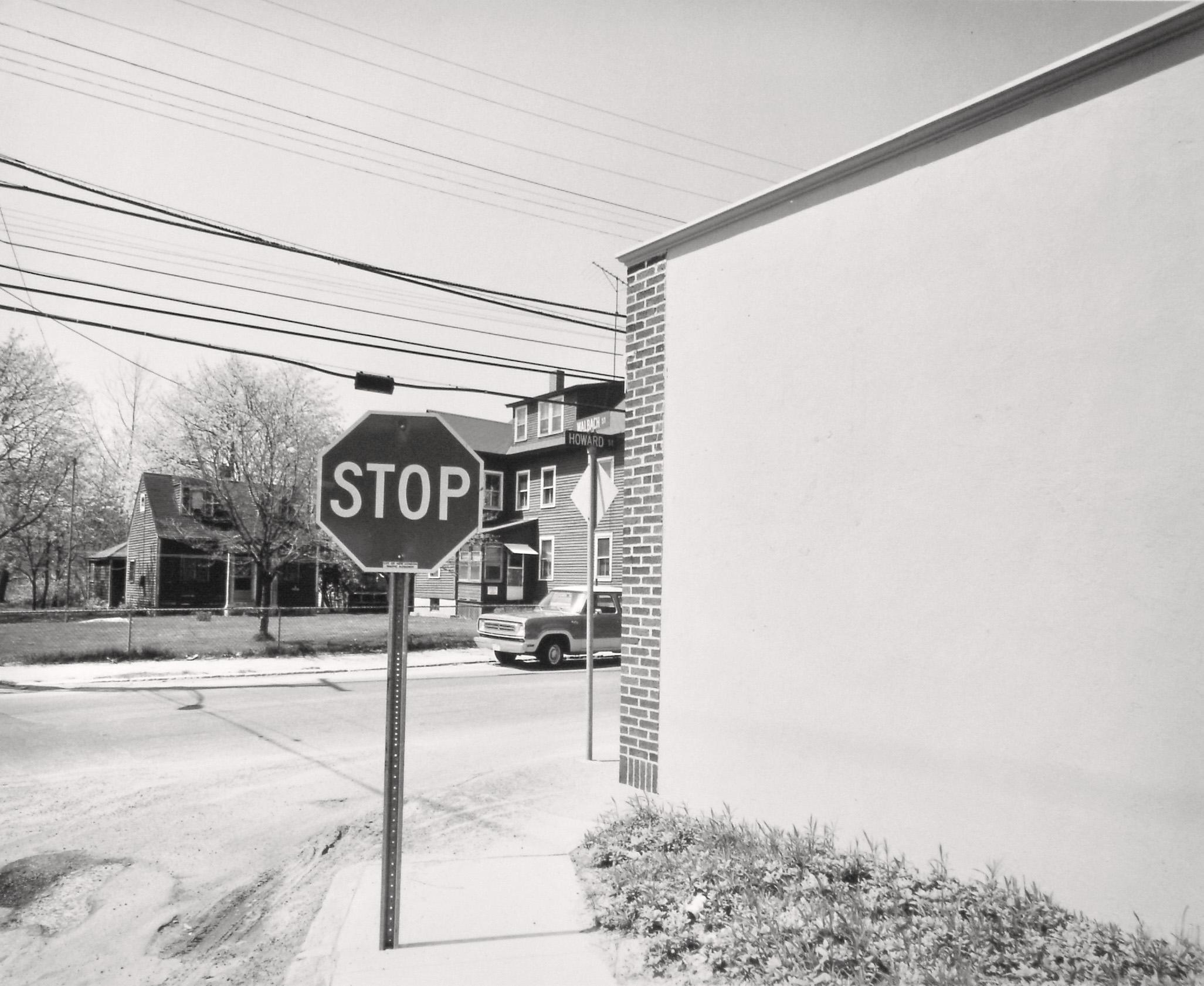Ted Hendrickson, Howard St and Walbach St,  New London, CT