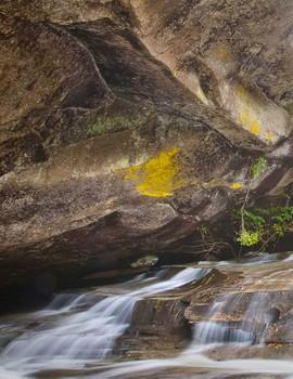 Cathedral Falls, Western North Carolina