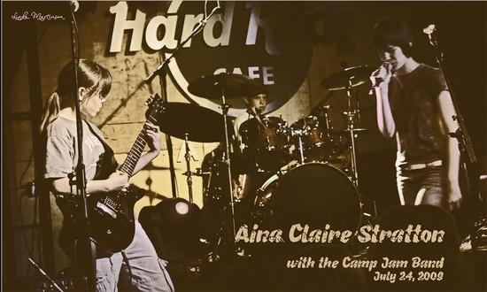 Aina Claire and Camp Jam Band
