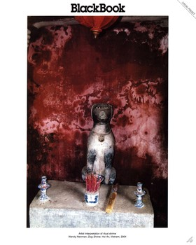 BLACKBOOK Magazine, Dog Shrine, Hoi An, Vietnam