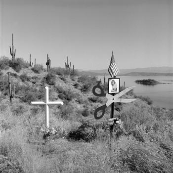 I-188 near Mile Marker 247 at Roosevelt Lake in AZ