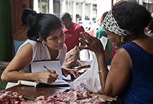 Meat Market in Cuba