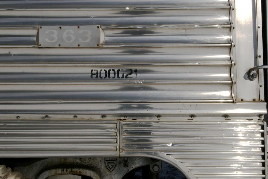 Silver Car #363