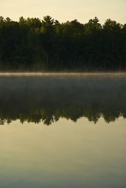 Golden Sunrise Lake Tahkodah
