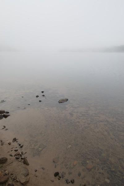 Fog & Rocks II, Series, Lake Tahkodah