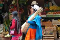 Hat Weaver, Chordeleg, Ecuador