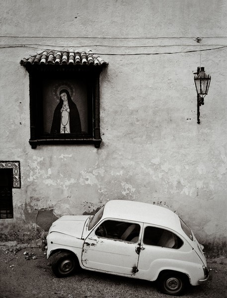 Little Car, Ronda, Andalucia
