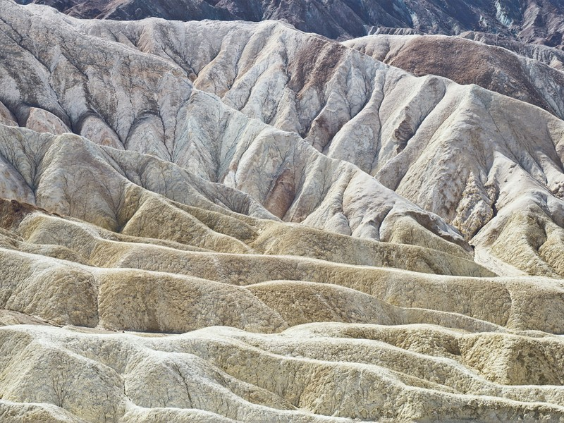 Midday, Zabriskie Point, Death Valley, 020609
