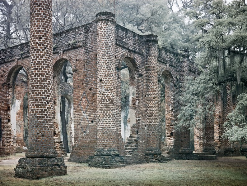 Sheldon Church Ruins, 111611_1, Beaufort County SC