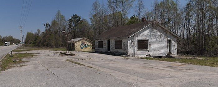 Gas station/ABC package store, Ulmer, SC