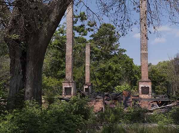 Chimneys and ruins, Olar, SC