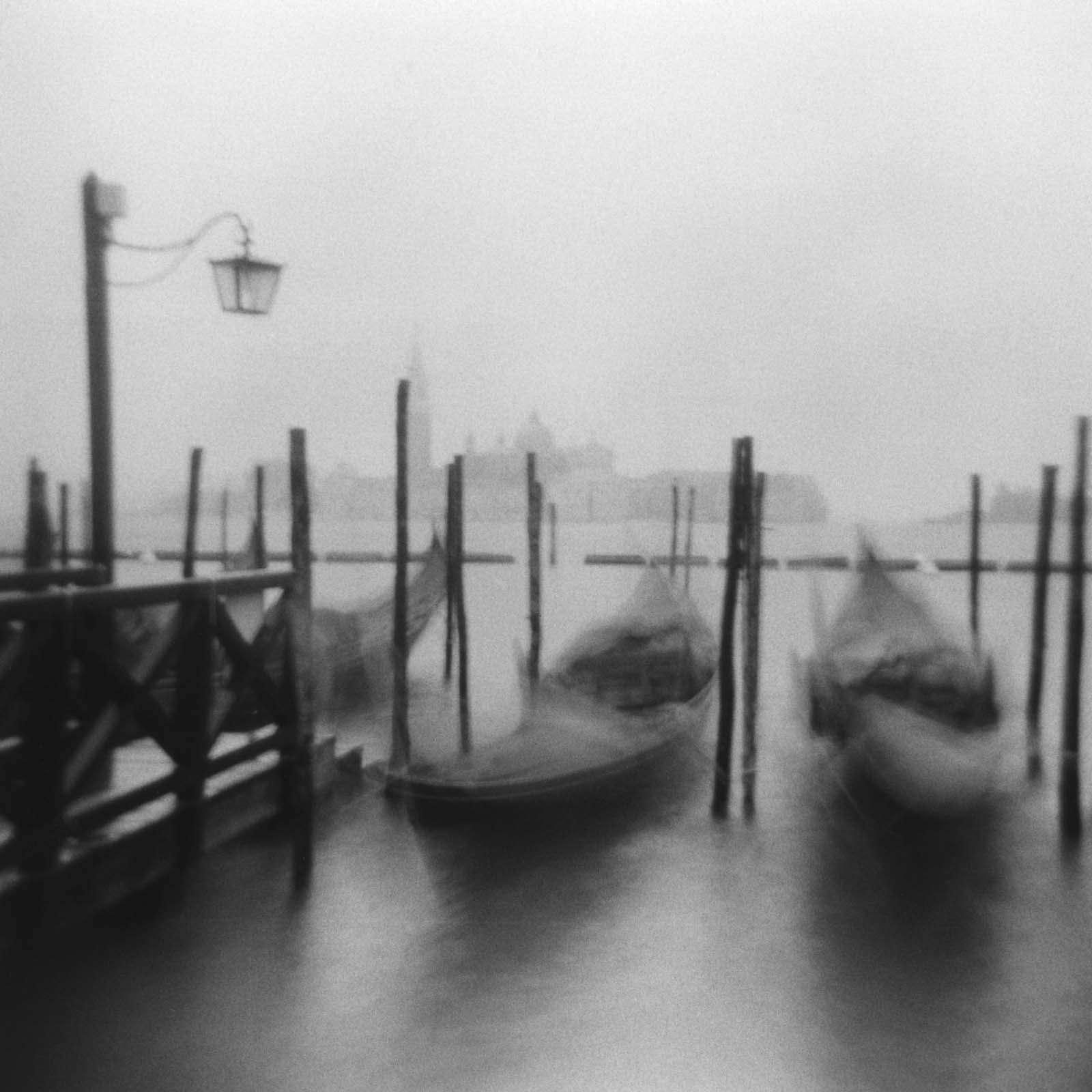 Linda Fitch, Gondolas, San Marco Square, Venice, Italy