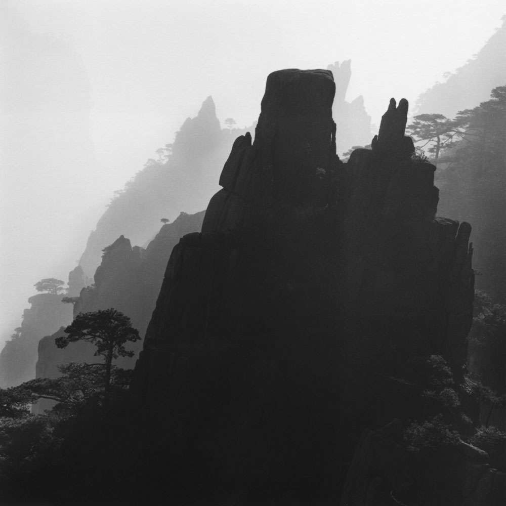 Linda Fitch, Majestic Mountains, Study 7, Anhui, China