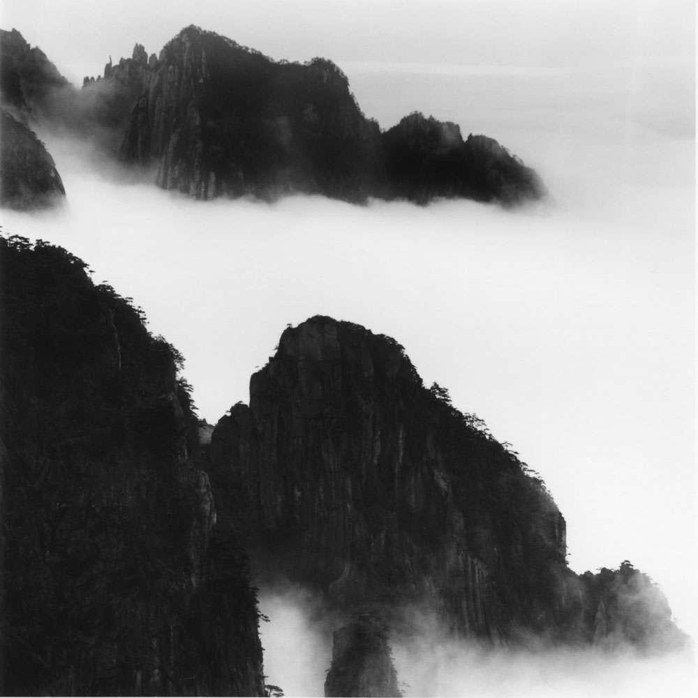 Linda Fitch, Majestic Mountains, Study 8, Anhui, China