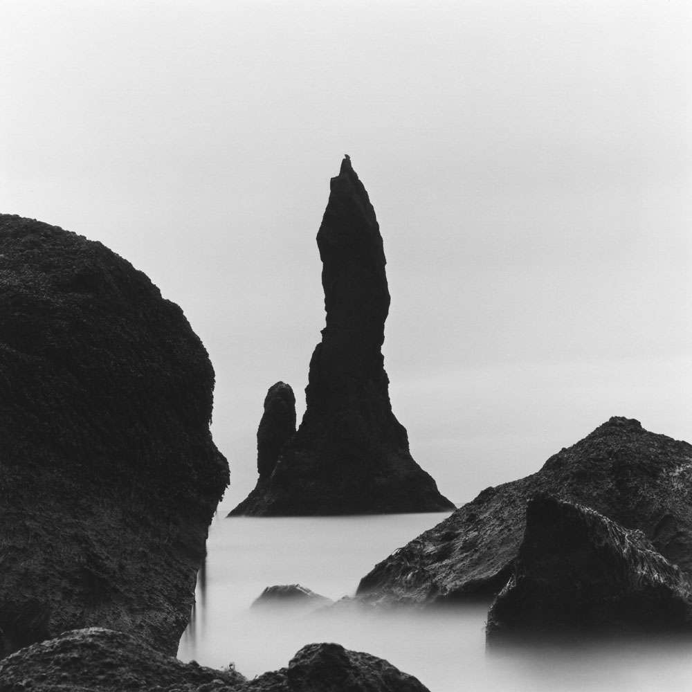 Linda Fitch, Sea Stacks, Study 2, South Coast, Iceland
