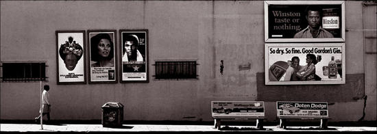 Black and White Billboards - Oakland, CA 1977