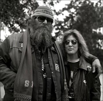 Tina and his Girlfriend, 1988