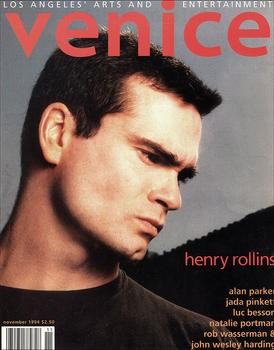 Henry Rollins forVenice Magazine 1994