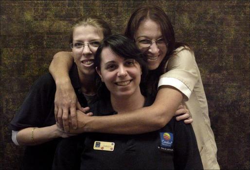 Sandy, Christy and Terri