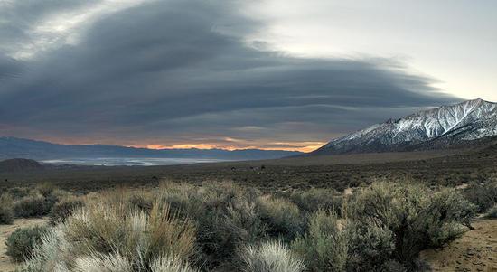 Sunrise - Owens Valley