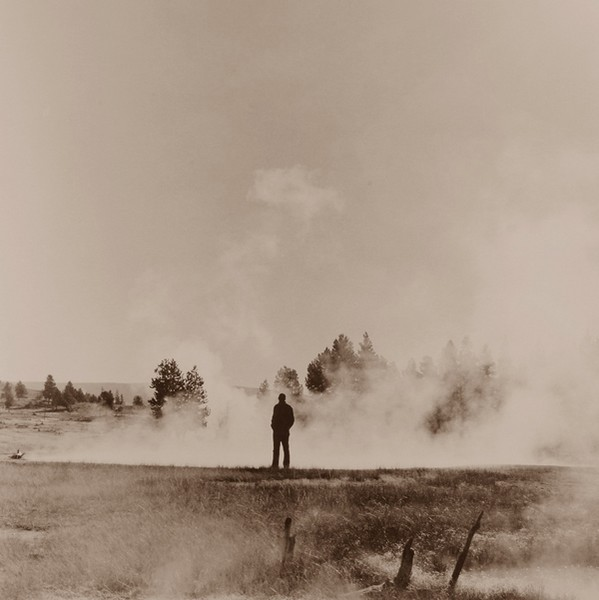 Figure and Steam, Yellowstone National Park