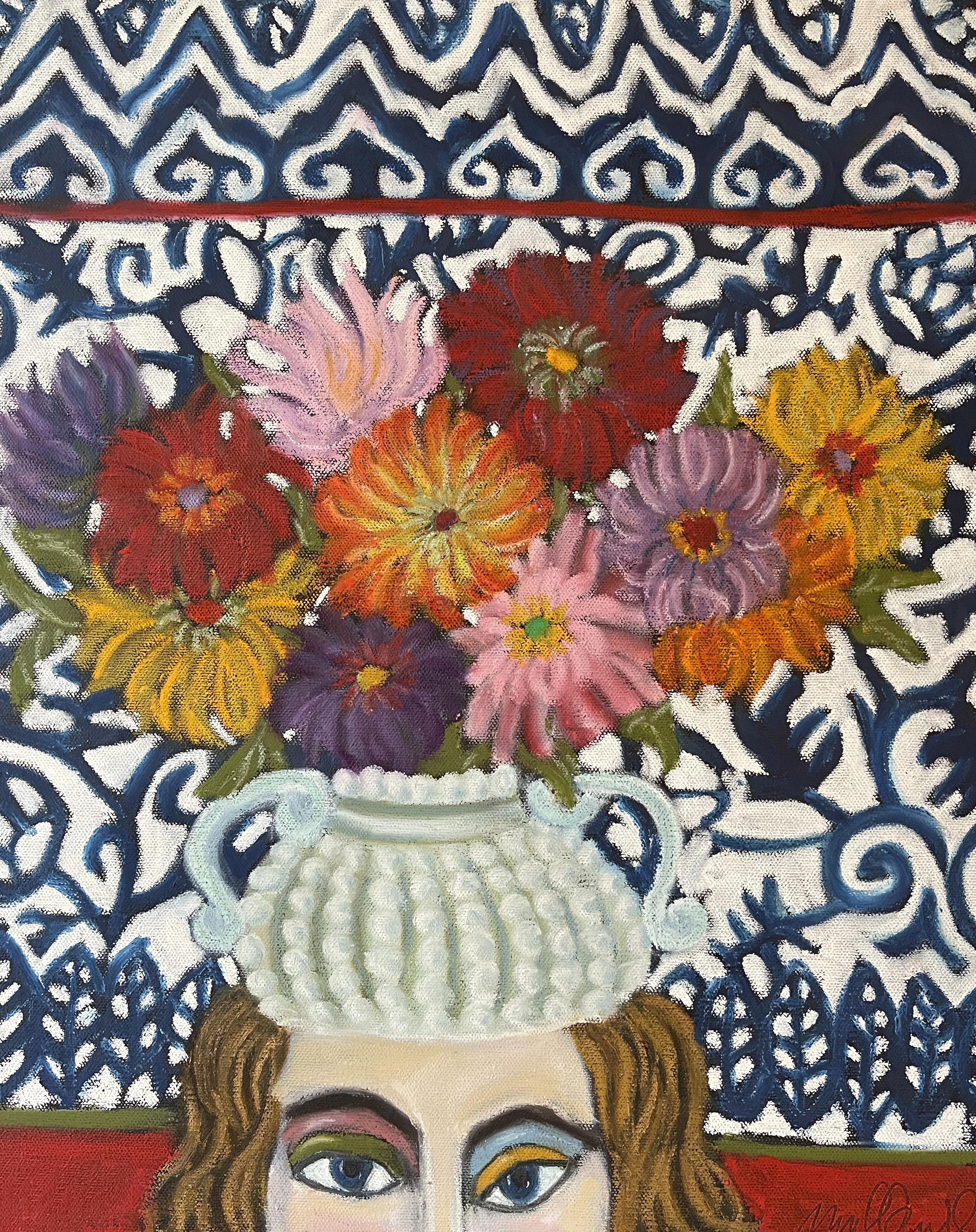Madeleine O'Connell, Chapeau de fleur
