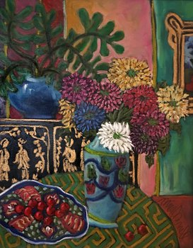 Still Life with Chinese Cabinet