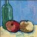Bottle and Apples
