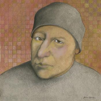 6-JS12 Heads #8. Man In Gray