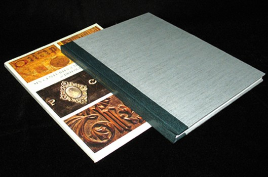 1B-11. Quarter leather rebinding of a catalog