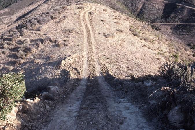 Water tank access road