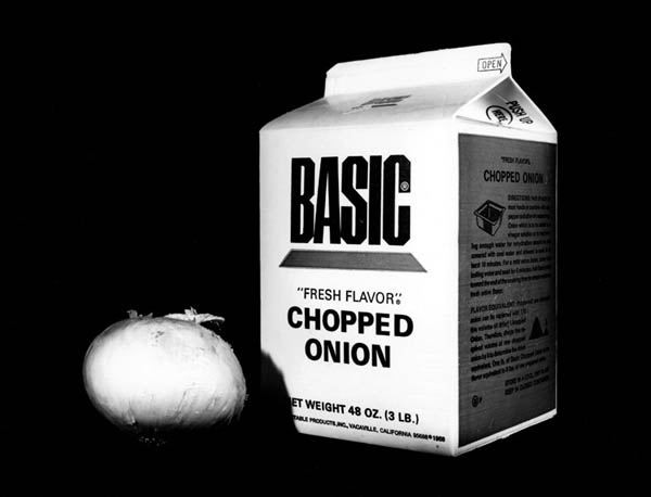 Chopped Onion, Inventory of My Mother's House