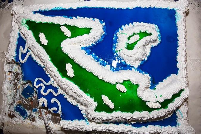 Cuba Themed Cake, Blu Resort, Varadero, Cuba