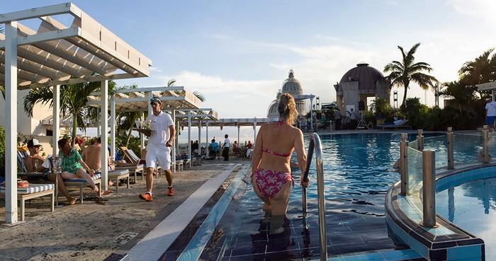 Parque Central Rooftop Pool, Havana, Cuba
