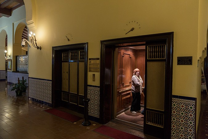 Elevator, Hotel Nacionale, Havana, Cuba