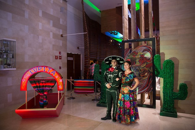 Maria & Gustavo,  Mexico Night, Secrets, Cancun,