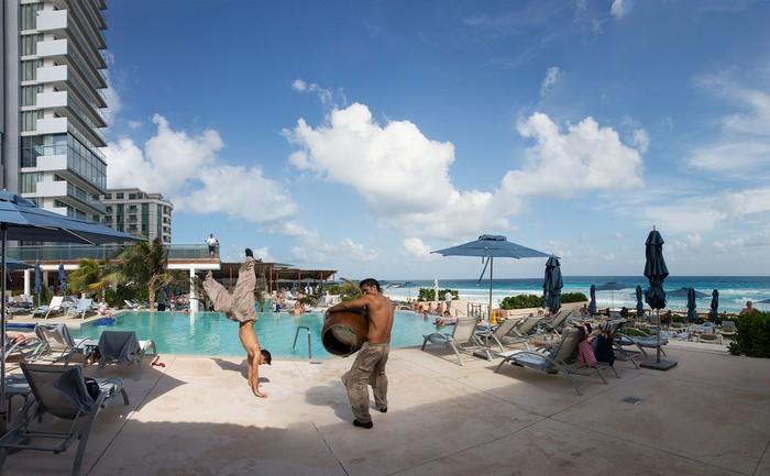 Juan and Jesus,  Secrets The Vine Resort, Cancun