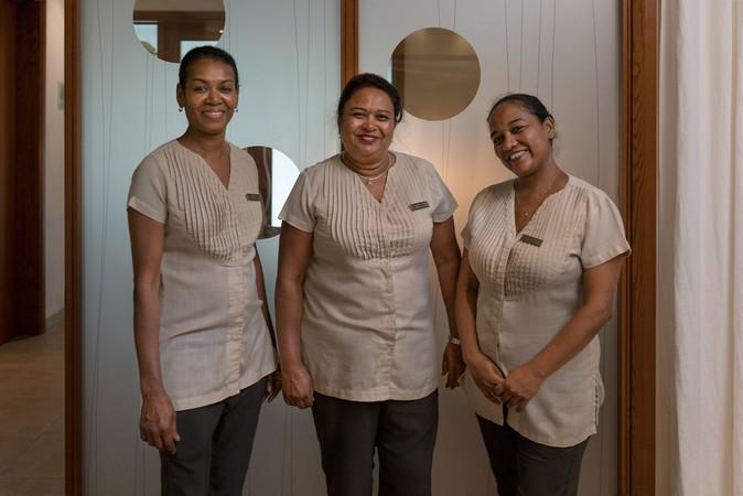 Annicle, Lakita, Patricia, The Spa Gals, Mauritius