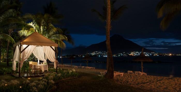 Wedding Tent, Sands, Flic en Flac, Mauritius