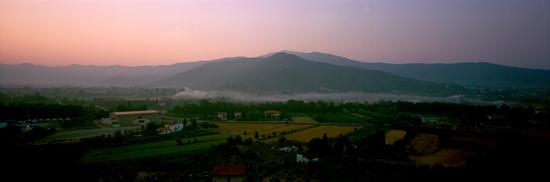 First Image,  Sunrise, Castiglion Forentino, Italy