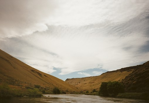 Rafting on the Deschutes River, 2011
