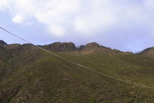 Urubamba Valley from the train window, Peru
