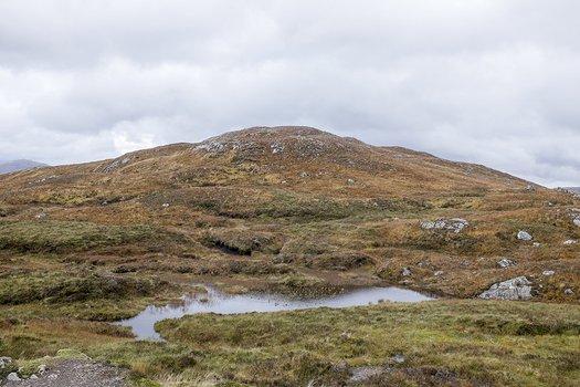 Near the top of Devil's Staircase, Glen Coe