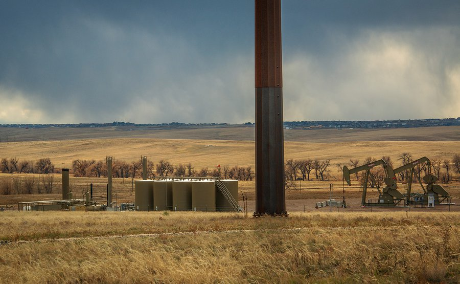 Fracking Site, E Quincy Ave, Watkins, CO