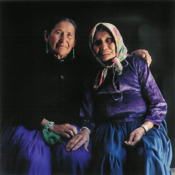 BERNICE BEGAY & mother BAH CHEE Jeddito Island '81