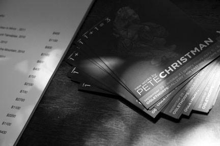 Show card