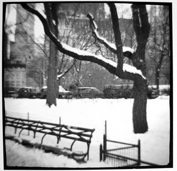 Central Park, Snow