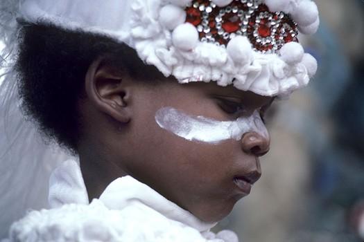 Young Mardi Gras Indian