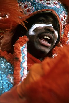 Mardi Gras Indian #6