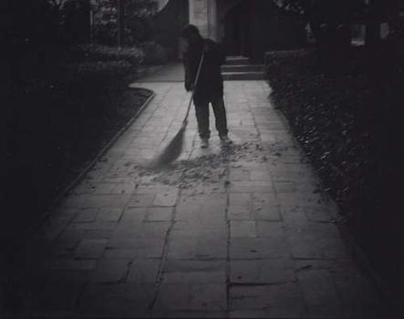 morning sweeping  San Miguel